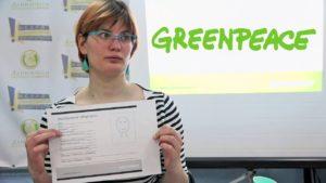 Маша Петрухина-Опыт работы с волонтёрами в Greenpeace